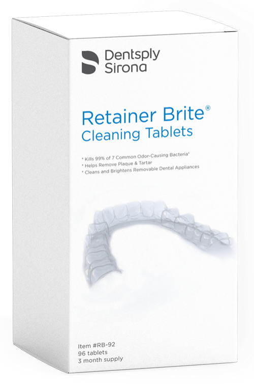 Retainer Brite Box Of 36 Tablets