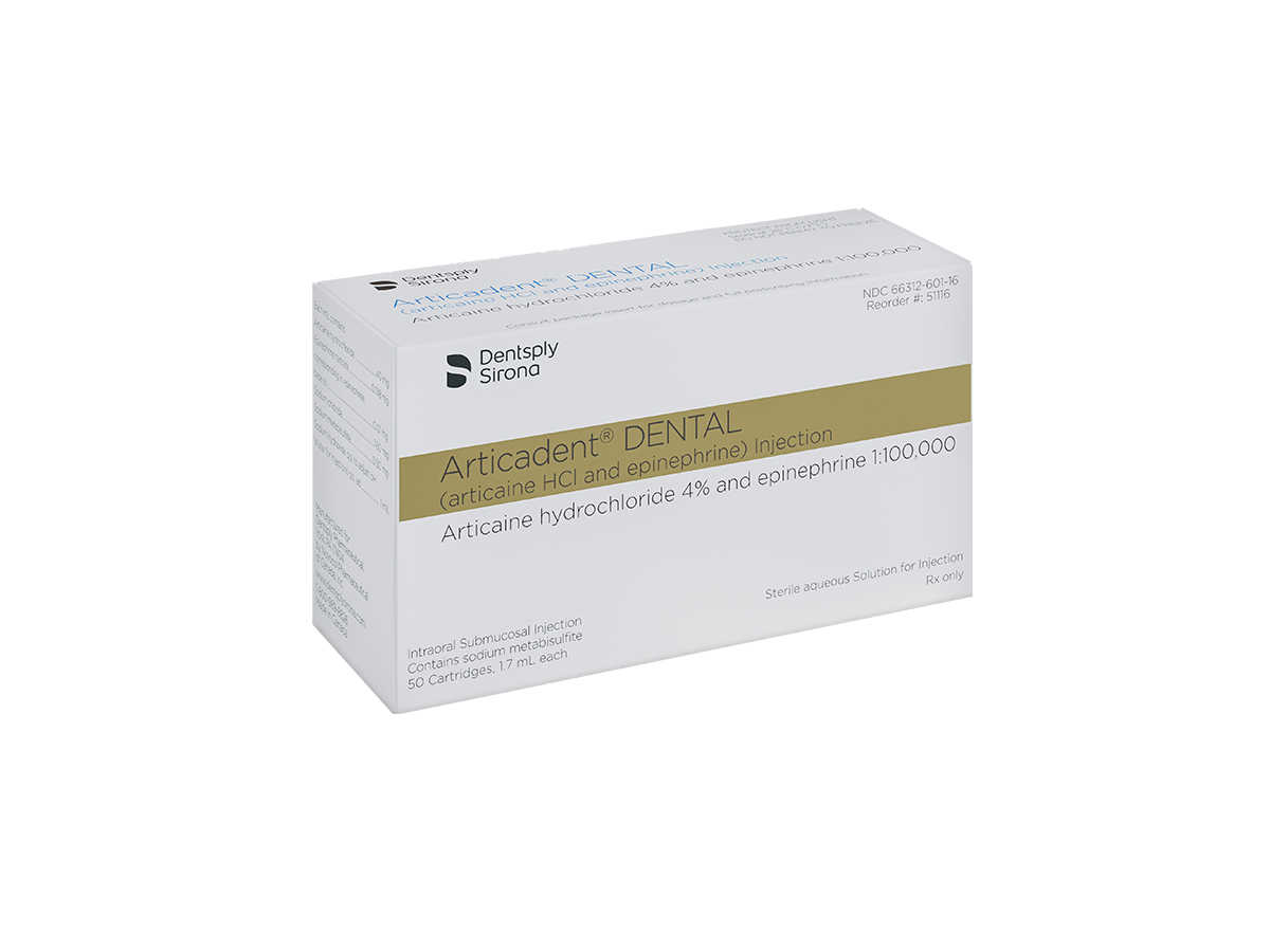 Articadent Dental Articaine Hcl And Epinephrine