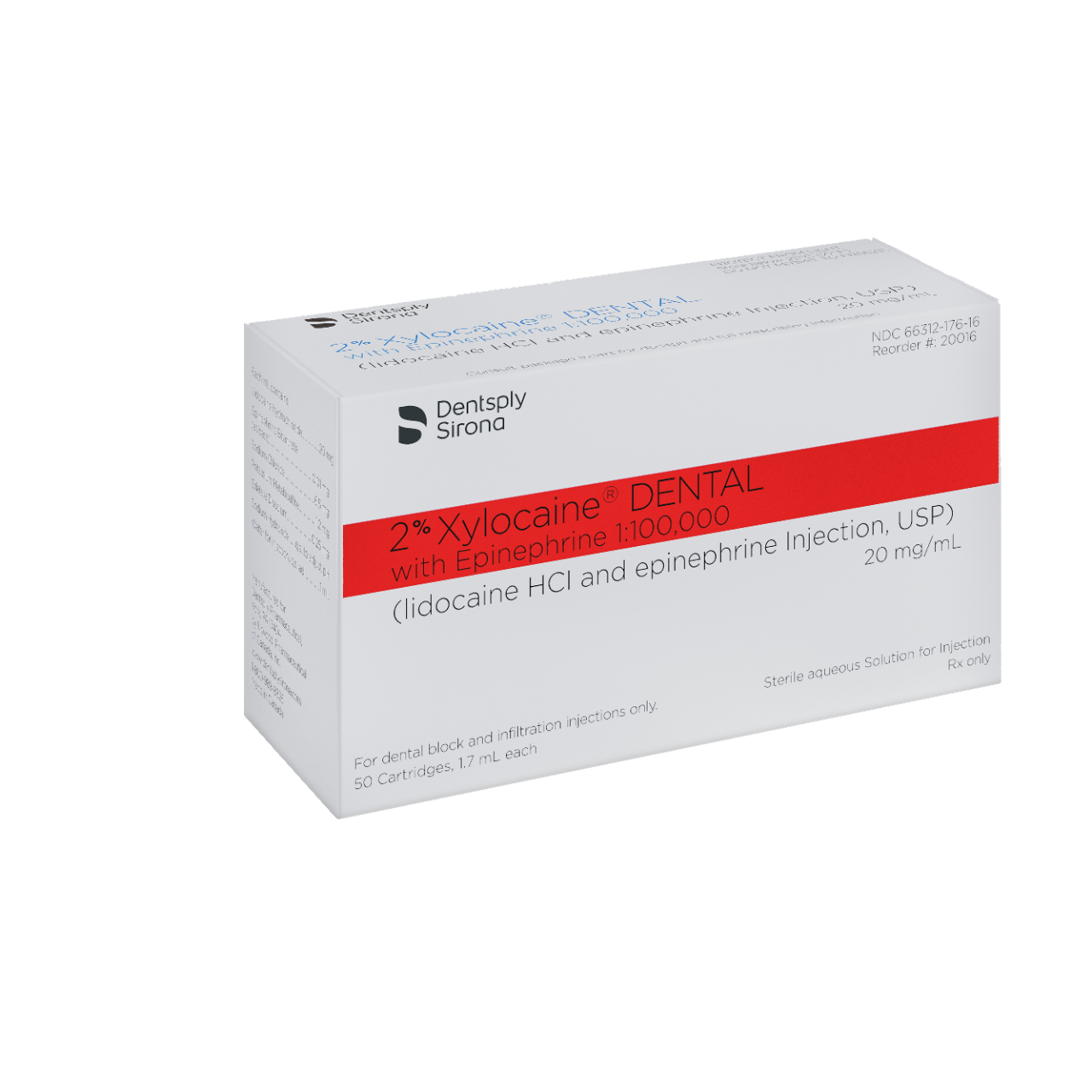 Xylocaine 2% (lidocaine HCL 2% with epinephrine 1:100,000
