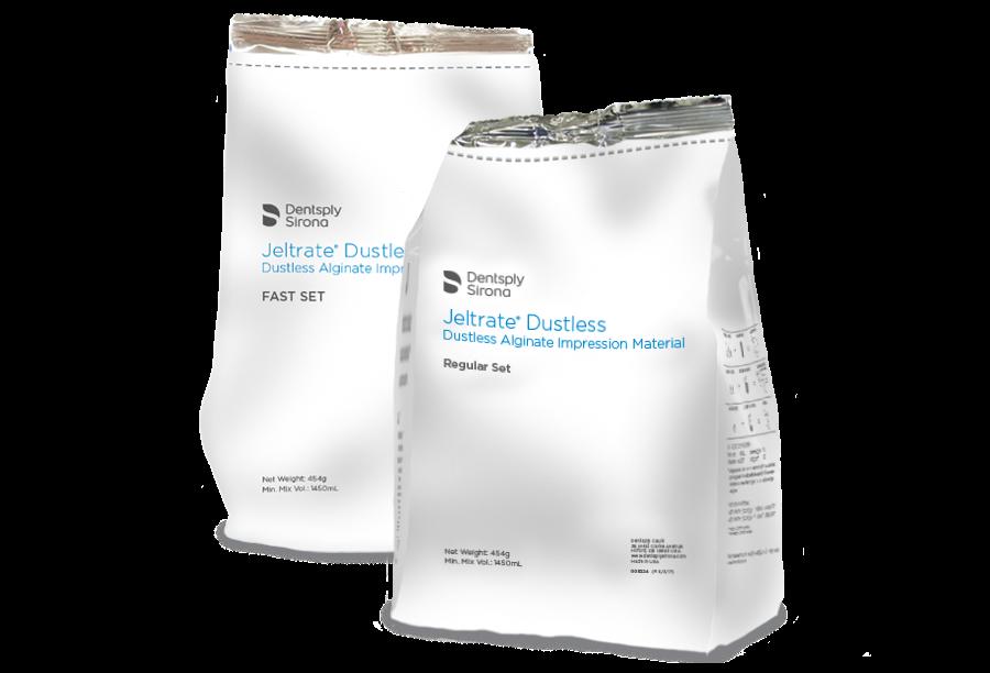 Jeltrate Dustless Alginate Fast Set 8 pouches