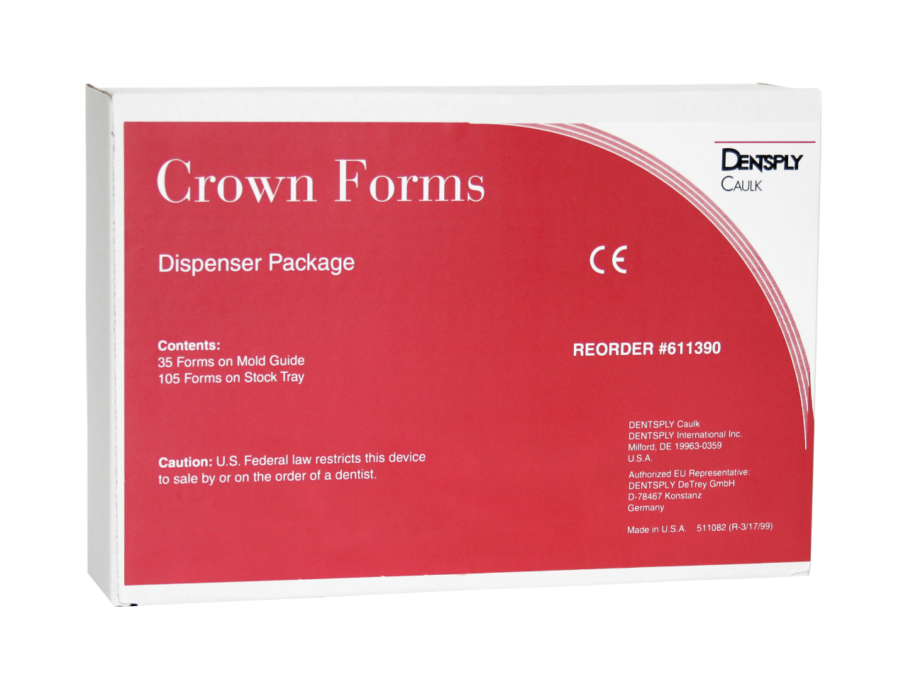 Crown Forms Dispenser Package