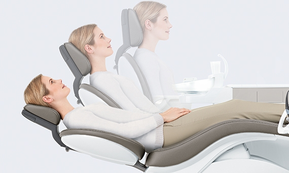 Patient specific chair positions with Dentsply Sirona treatment centers