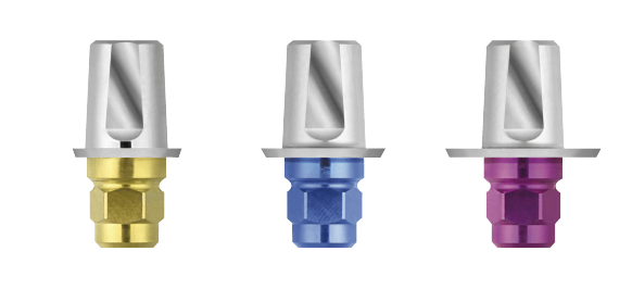 TitaniumBase abutments